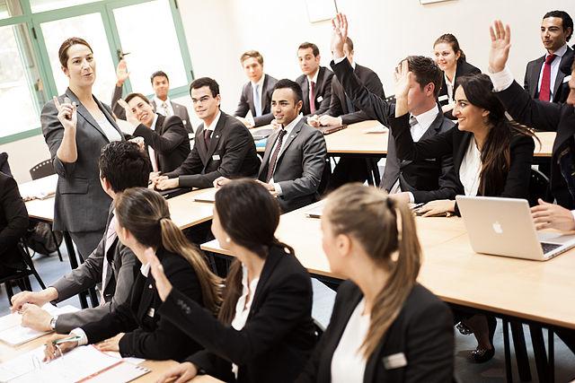 Academic Classroom at Les Roches Marbella