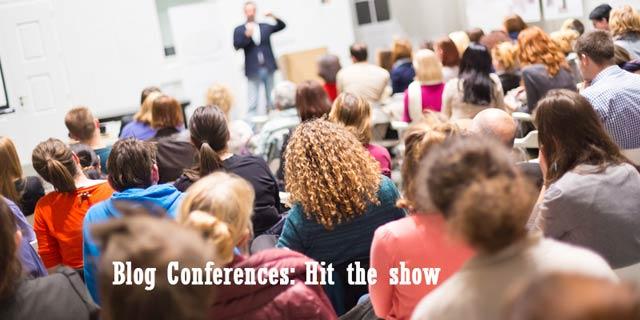 Blog Conferences Hit the show