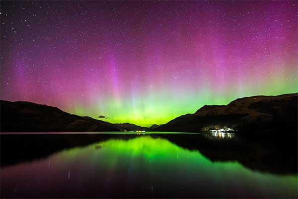 Catch the Northern Lights from Isle of Skye Scotland