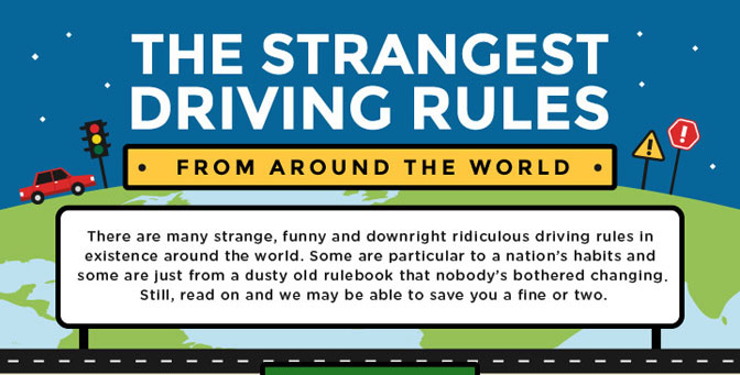 Strangest Driving Rules From Around The World